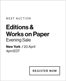 Editions & Works on Paper Evening Sale Tomorrow